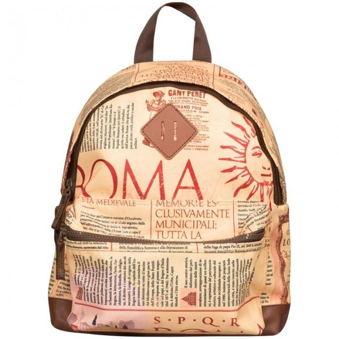школьные рюкзаки Школьные рюкзаки Berlingo Рюкзак Nice Newspaper style 33x28x14 см