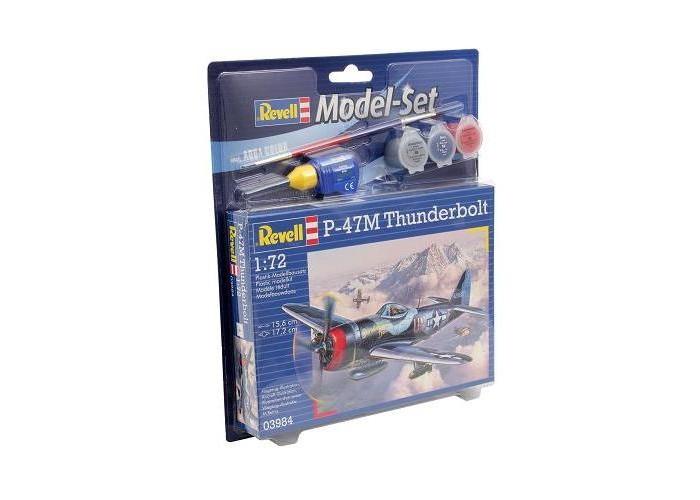 Купить Сборные модели, Revell Набор Истребитель-бомбардировщик Рипаблик P-47 Тандерболт