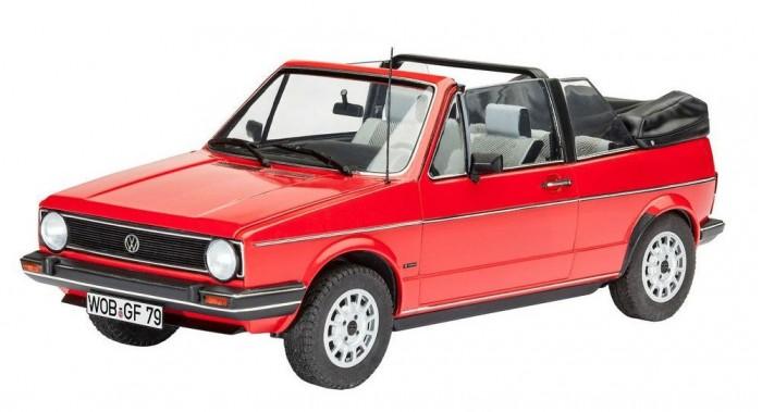 Конструктор Revell Автомобиль VW Golf 1 кабриолет