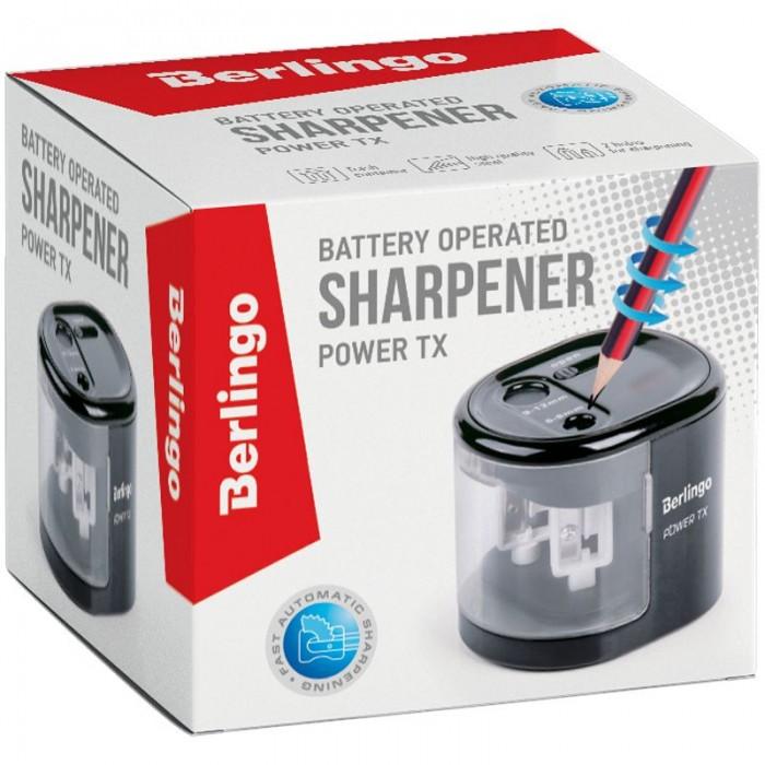Купить Канцелярия, Berlingo Точилка электрическая Power TX