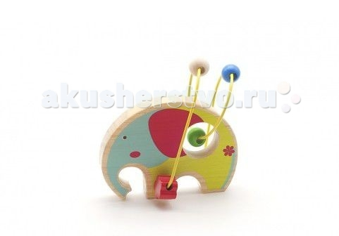 Деревянные игрушки Мир деревянных игрушек (МДИ) Лабиринт Слон деревянные игрушки мир деревянных игрушек мди лабиринт лев