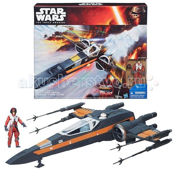 Интерактивная игрушка Star Wars Космический корабль Класс IIIКосмический корабль Класс IIIИнтерактивная игрушка Star Wars Космический корабль Класс III - представляет из себя более современную, усовершенствованную и еще более мощную модель Т-65 X-Wing – лучшего истребителя флота повстанцев.  В преддверии выхода на большие экраны самой ожидаемой кинопремьеры года, Звёздные войны. Эпизод VII: Пробуждение силы, компания Хасбро выпустила замечательную новинку – истребитель T-70 X-Wing.  В комплект игрового набора входят: истребитель, ракета, которой стреляет звёздный корабль, фигурка пилота X-крыла По Дамерона (высотой 9,5 см) и два дополнительных аксессуара.<br>