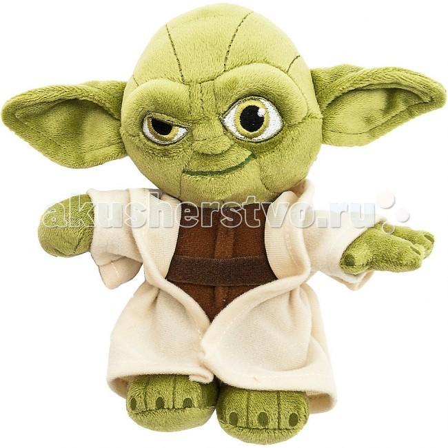 Мягкие игрушки Star Wars Disney Звездные войны Йода 17 см мягкие игрушки star wars игрушка starwars йода плюшевый со звуком