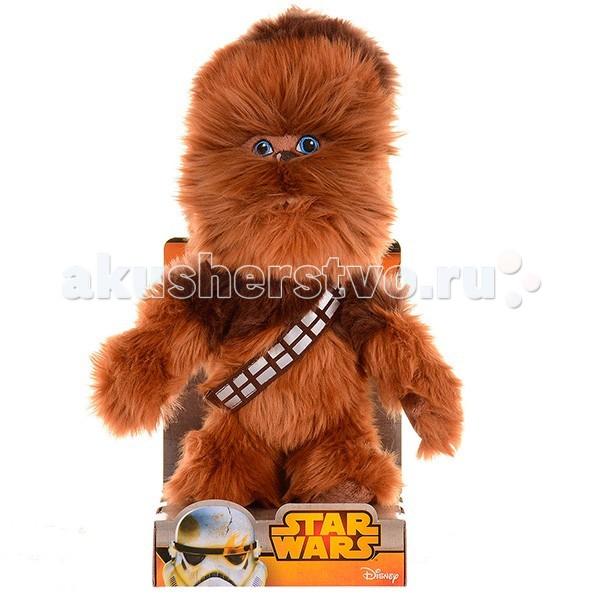 Мягкие игрушки Star Wars Disney Звездные Войны Чубакка 17 см фигура star wars звездные войны хан соло 79 см
