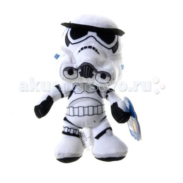 Мягкие игрушки Star Wars Disney Звездные Войны Штурмовик 17 см