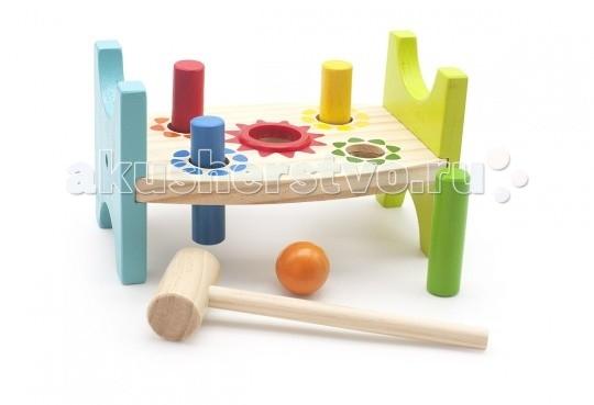 Деревянные игрушки Мир деревянных игрушек (МДИ) Стучалка Шарик и гвоздики