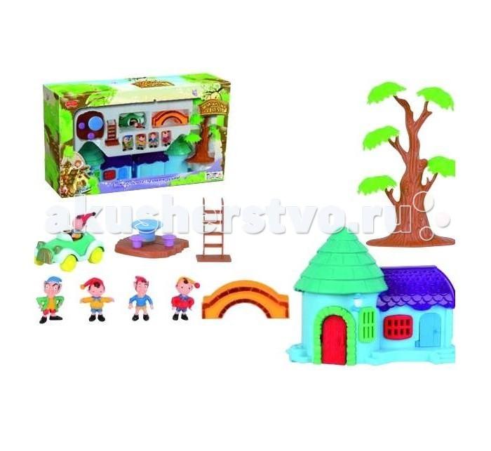 Игровые наборы Zhorya Игровой домик с фигурками гномиков Х75321 игровые центры zhorya развивающий столик zye e0050