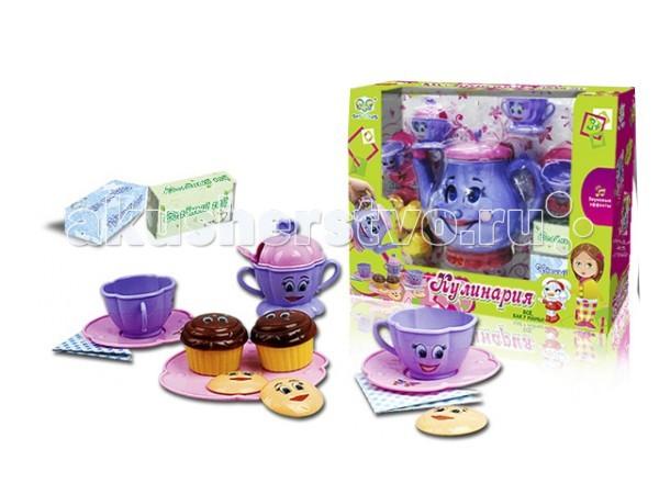 Ролевые игры S+S Toys Чайный сервиз ролевые игры s s toys игровой набор касса