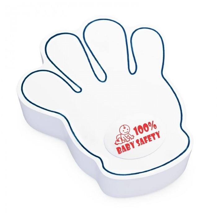 Блокирующие устройства Baby Safety Фиксатор для дверей Ладошка baby safety уголки baby safety защитные 5 шт