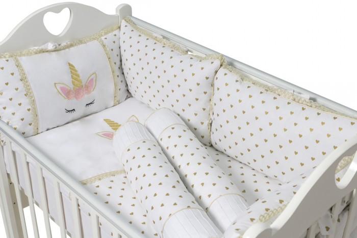 Купить Комплект в кроватку Ma Licorne La Licorne (9 предметов) в интернет магазине. Цены, фото, описания, характеристики, отзывы, обзоры