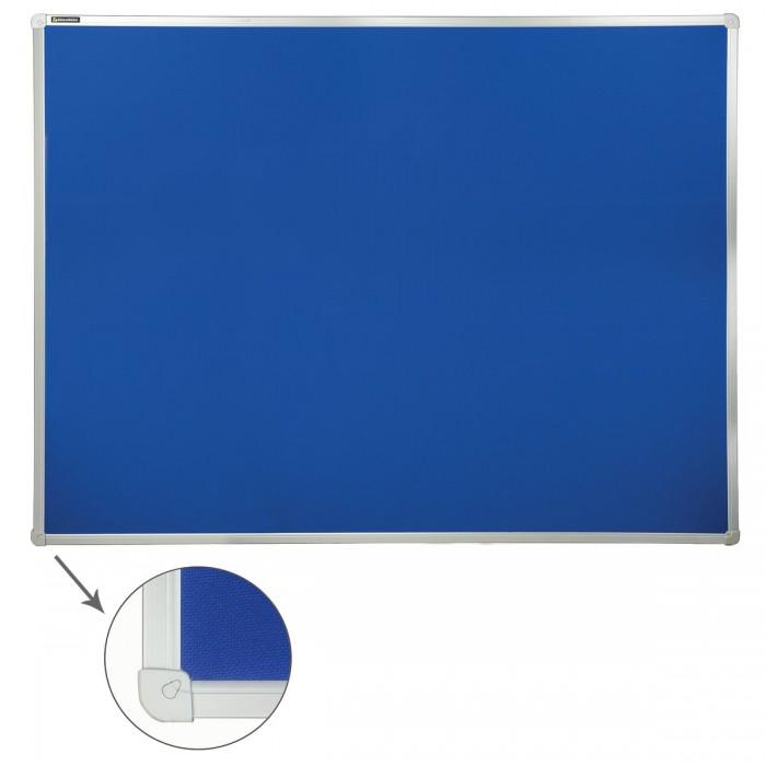 Купить Доски и мольберты, Brauberg Доска c текстильным покрытием для объявлений 90х120 см