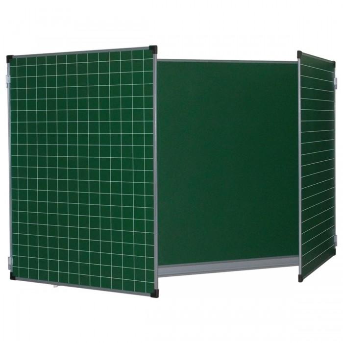 Купить Brauberg Доска для мела магнитная 3-х элементная 100х150/300 см в интернет магазине. Цены, фото, описания, характеристики, отзывы, обзоры