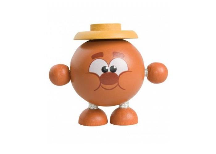 Деревянные игрушки Смешарики Дергунчик Копатыч музыкальные игрушки смешарики дергунчик бараш