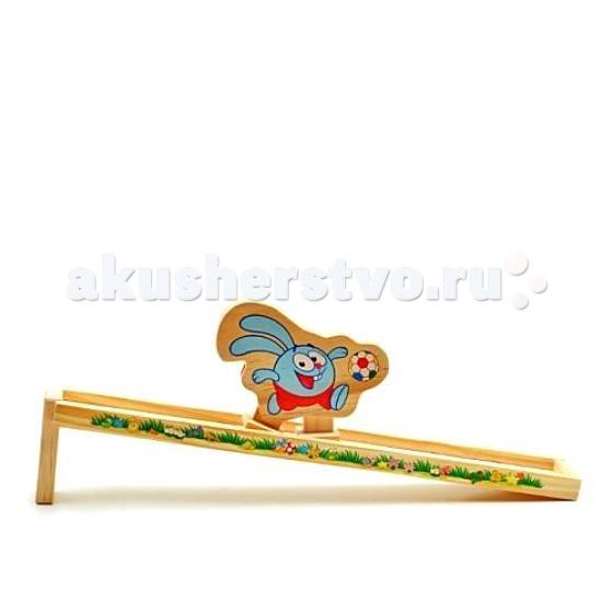 Деревянные игрушки Смешарики Горка Крош