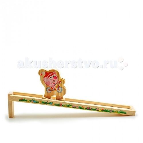 Деревянные игрушки Смешарики Горка Нюша смешарики gt