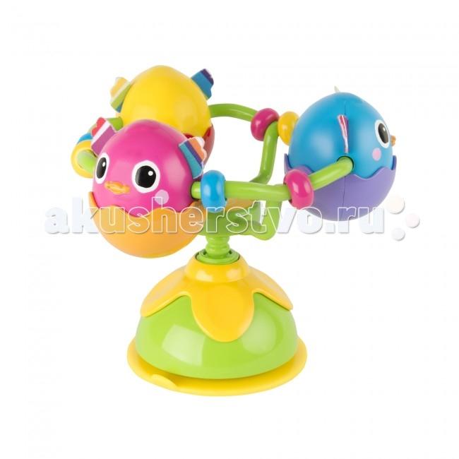 Развивающие игрушки Lamaze с присоской на стульчик Веселые утята tomy игрушка с присоской на стульчике веселые утята tomy lamaze