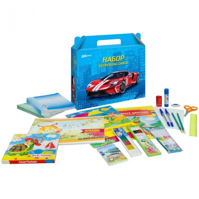 Канцелярия Спейс Набор школьно-письменных принадлежностей ArtSpace Super car 28 предметов