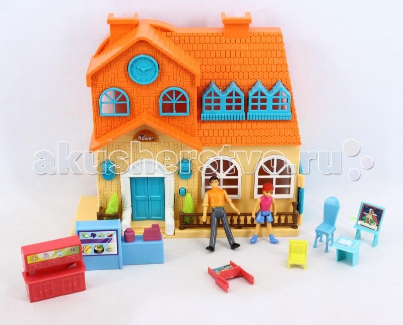Кукольные домики и мебель 1 Toy Кукольный домик Мой маленький мир Т57427 1 toy конструктор мой маленький мир дом мечты 360 деталей арт т57226