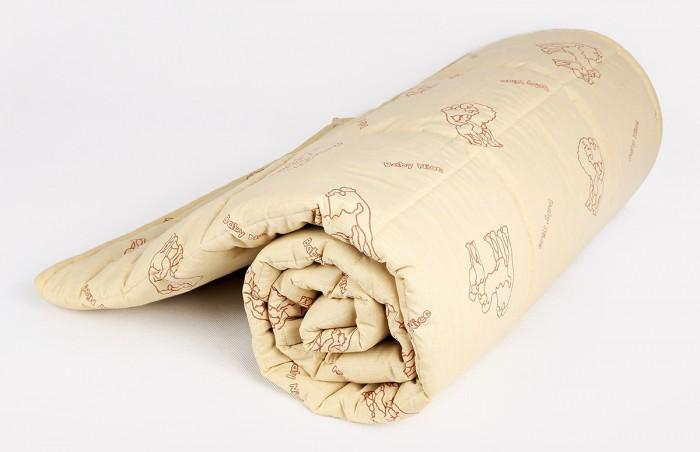 Фото - Одеяла Baby Nice (ОТК) стеганое, верблюжий пух микрофибра 105х140 см одеяло верблюжья шерсть тик с кантом 172х205 см