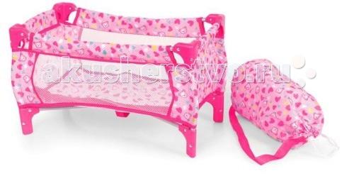 Кроватки для кукол 1 Toy Т54597 сумку переноску для щенят