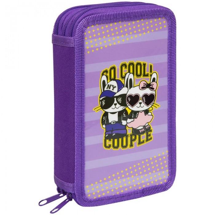 Пеналы Спейс Пенал 3 отделения ArtSpace Cool couple 19x11 см недорого