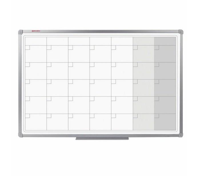 Brauberg Доска-планинг магнитно-маркерная 60х90 см фото