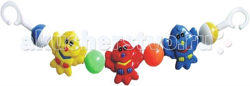 Дуги для колясок и автокресел Baby Mix Растяжка на коляску Совята babymix