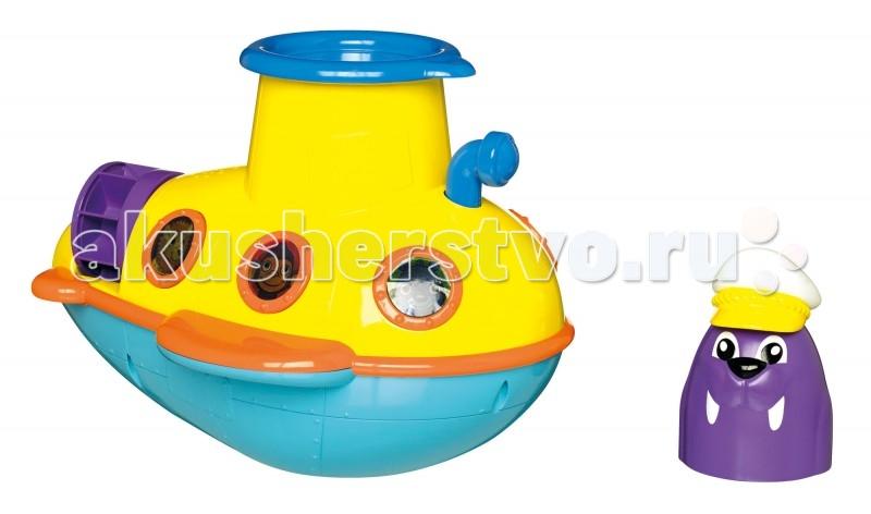 Игрушки для ванны Tomy Игрушка для ванны Подводная Лодка разноцветная мозаика для малышей самолет подводная лодка 2835
