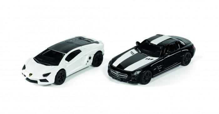 Siku Набор Lamborghini Aventador и Mercedes Benz SLS AMG Coupe