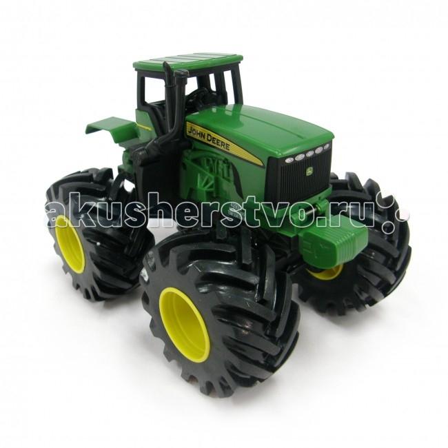 Машины Tomy John Deere Трактор Monster Treads с большими колесами и вибрацией машины tomy трактор john deere 6210r