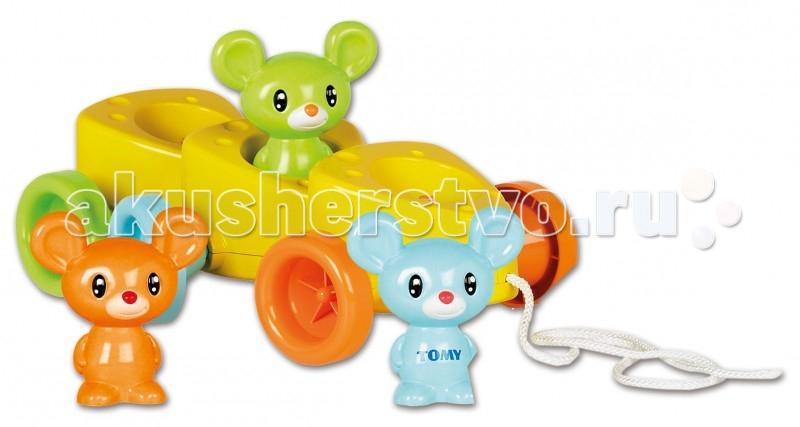 Каталка-игрушка Tomy Веселые мышата