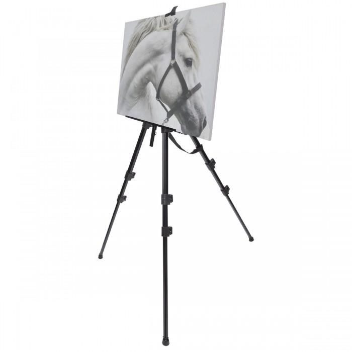 Купить Доски и мольберты, Brauberg Мольберт алюминиевый Art Classic тренога 98x180x91 см