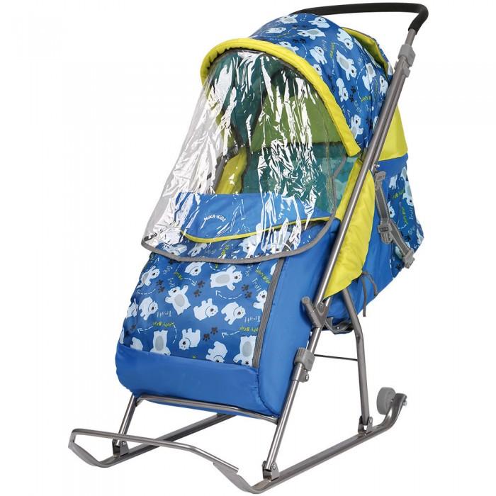 Купить Санки-коляска Ника Умка 3 Мишки в интернет магазине. Цены, фото, описания, характеристики, отзывы, обзоры