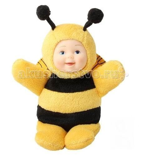 Мягкие игрушки Unimax Детки-пчелки 16 см кукла пупс unimax детки пчелки 36 см 572110