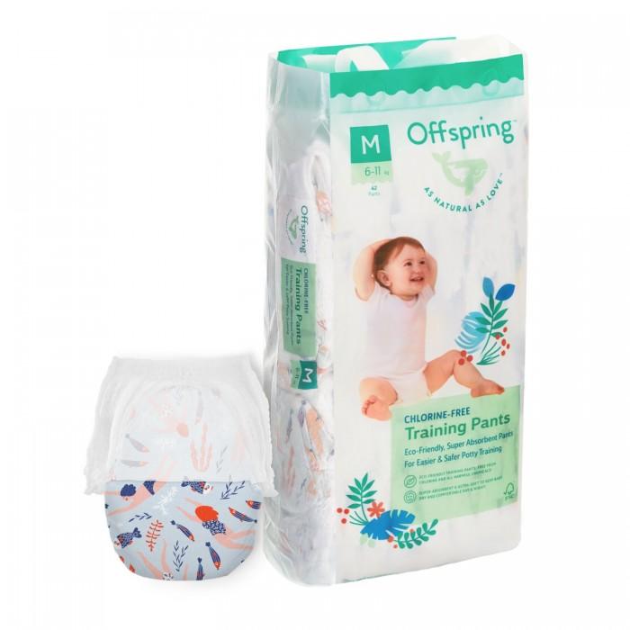 Купить Offspring Трусики-подгузники Риф M (6-11 кг) 42 шт. в интернет магазине. Цены, фото, описания, характеристики, отзывы, обзоры