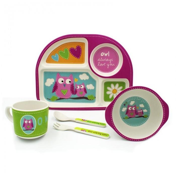 Купить Bambooki Бамбуковая посуда Влюбленные совята в интернет магазине. Цены, фото, описания, характеристики, отзывы, обзоры