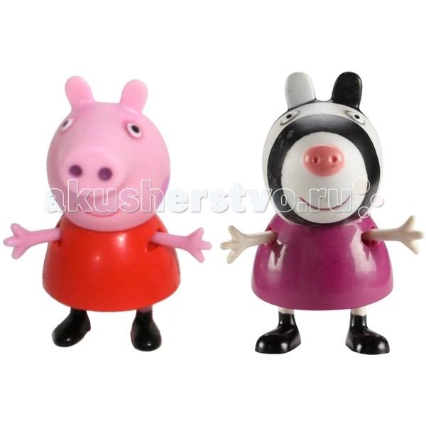 игровые фигурки Игровые фигурки Свинка Пеппа (Peppa Pig) Игровые фигурки Пеппа и Зои
