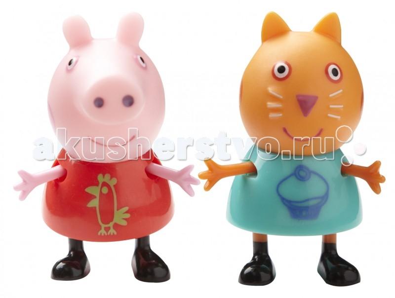 Игровые наборы Свинка Пеппа (Peppa Pig) Игровой набор Пеппа и Кенди игровые наборы tomy игровой набор приключения трактора джонни и лошади на ферме