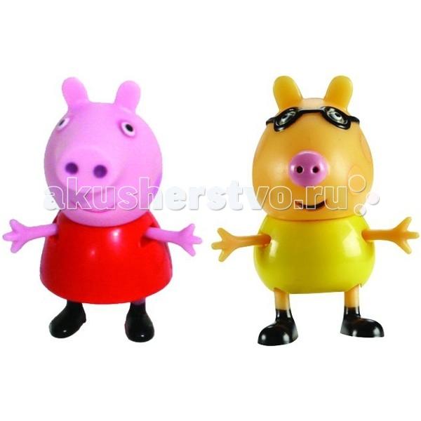 Игровые наборы Свинка Пеппа (Peppa Pig) Игровой набор Пеппа и Педро игровой набор peppa pig семья пеппы папа свин и джорж 2 предмета от 3 лет 20837
