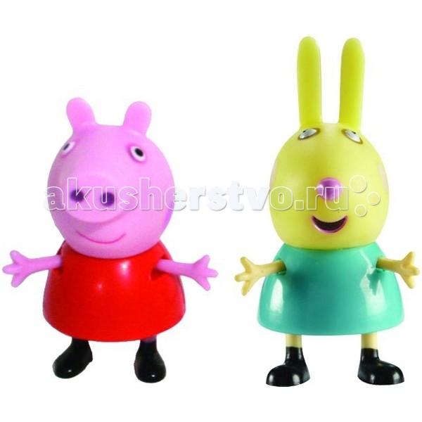 Игровые наборы Свинка Пеппа (Peppa Pig) Игровой набор Пеппа и Ребекка  игровой набор любимый персонаж peppa pig 4 фигурки в ассортименте свинка пеппа