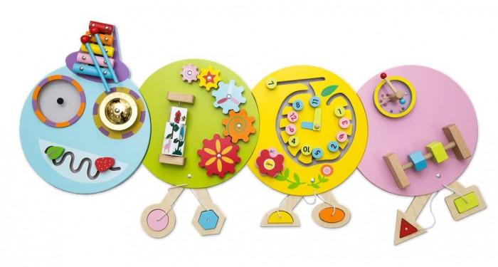 Деревянные игрушки Troys Бизиборд Гусеница