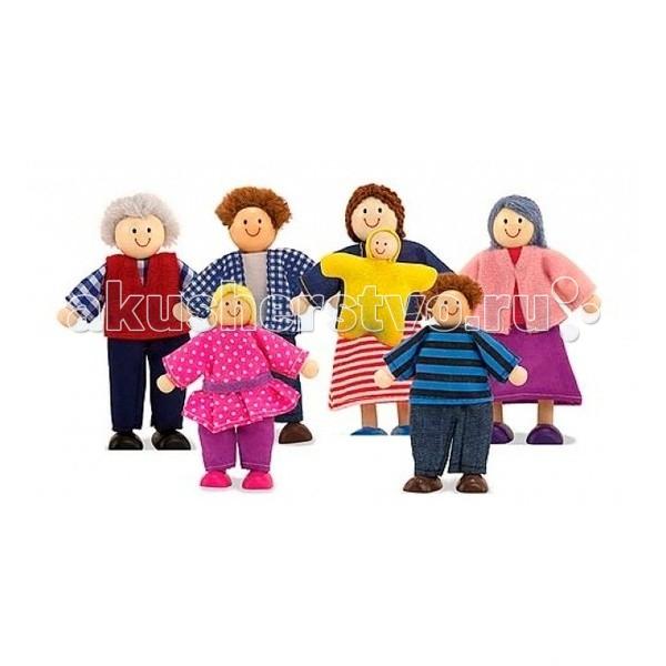Melissa & Doug Кукольная семья
