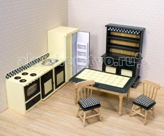 Кукольные домики и мебель Melissa & Doug Мебель Кухня (для викторианского дома)