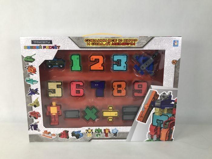 1 Toy Игровой набор Трансботы Боевой расчет