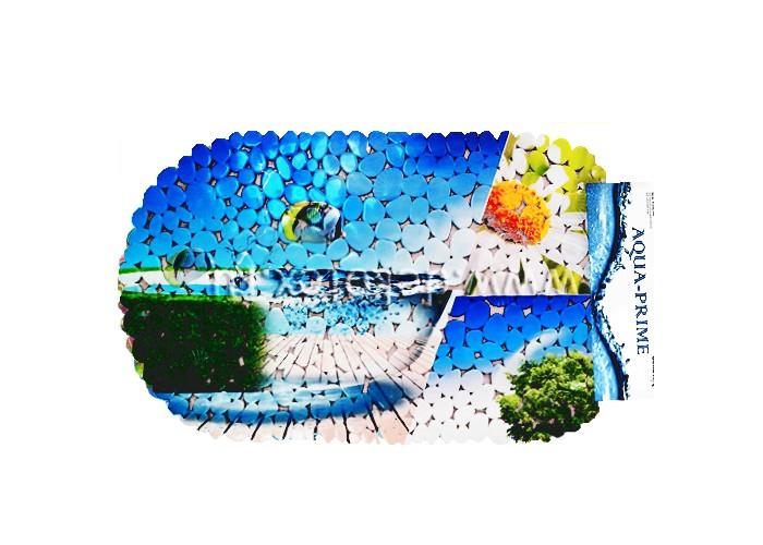 Купить Коврик Aqua-Prime Spa для ванны Пляж 67х36 см в интернет магазине. Цены, фото, описания, характеристики, отзывы, обзоры