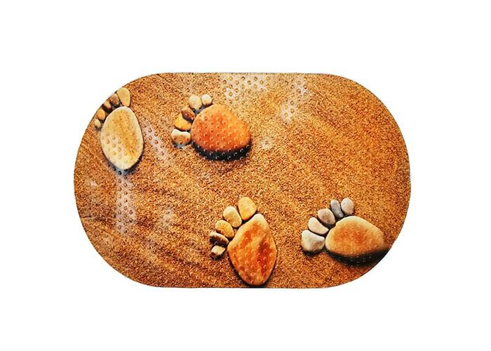 коврики для купания aqua prime spa для ванны тропические листья 68х38 см Коврики для купания Aqua-Prime Spa для ванны Ножки 68х38 см