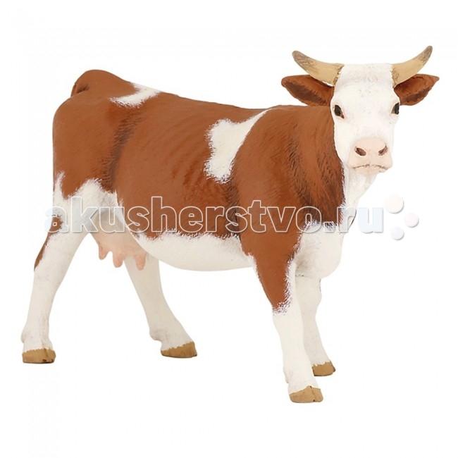 Игровые фигурки Papo Игровая реалистичная фигурка Корова