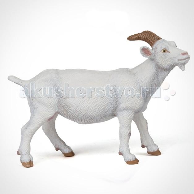 Игровые фигурки Papo Игровая реалистичная фигурка Белая коза игровые фигурки papo игровая фигурка белая мышь