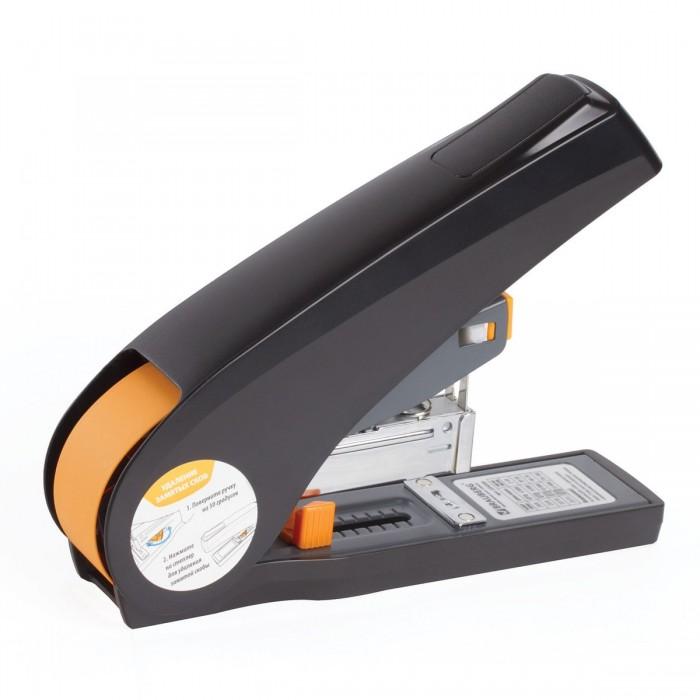 Канцелярия Brauberg Степлер Leistung №24/6-23/13 энергосберегающий мощный до 100 листов степлер ручной brauberg энергосберегающий мощный 24 6 23 17 easy press до 120 листов без усилий 227664