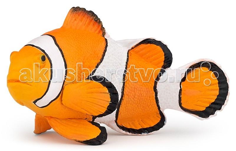 Игровые фигурки Papo Игровая реалистичная фигурка Рыба клоун игровые фигурки papo фигурка рыба пила